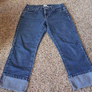 Calvin Klein Cropped Jean